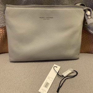 Marc Jacobs Lt grey Leather Crossbody